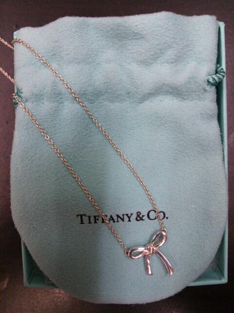 ティファニーのカワイイ♪ネックレスが・・・