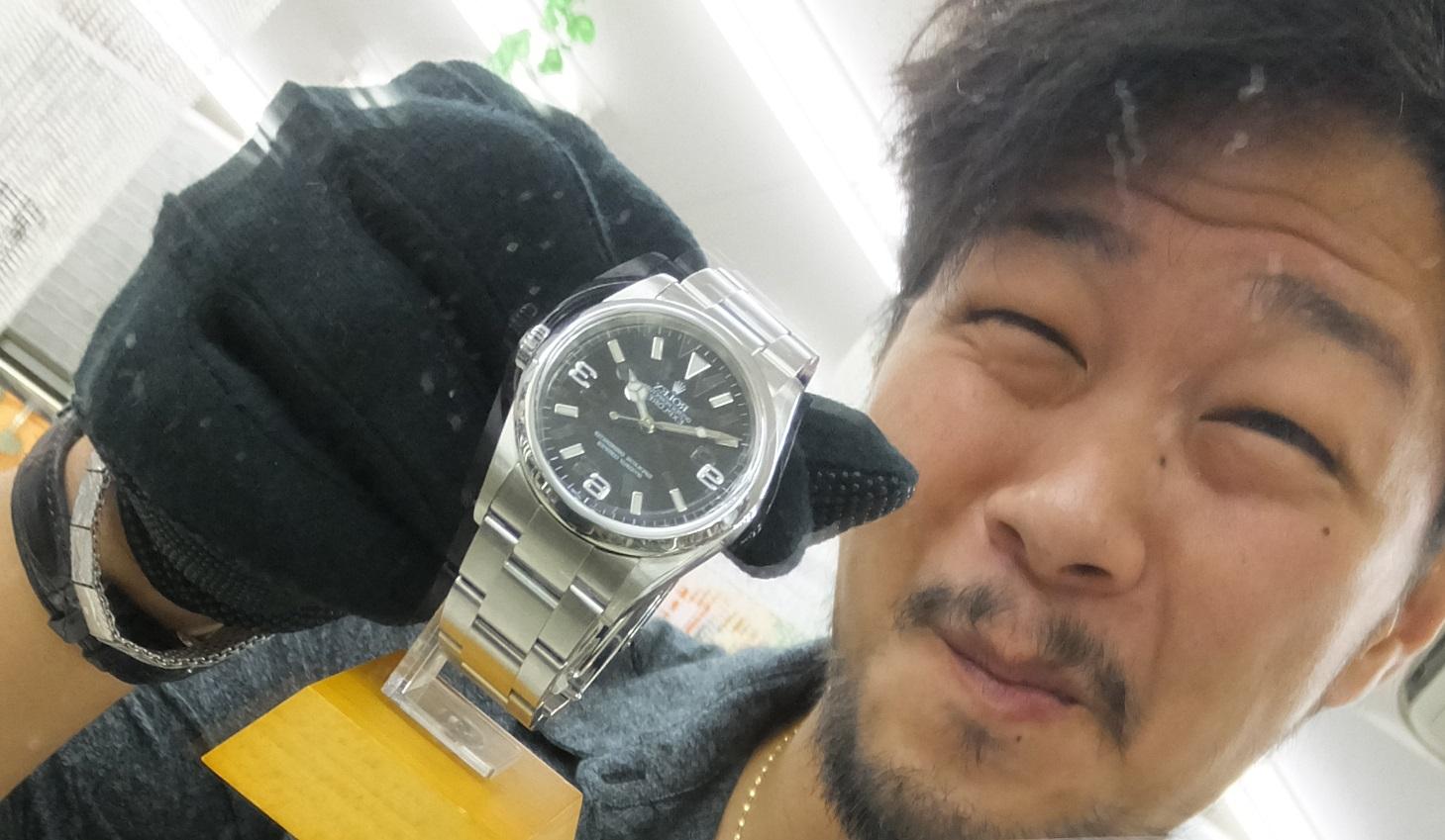 東大和で買取販売、高級時計が凄い!特に【ロレックス オーデマ パテック バシュロン】!動かない、ベルトが切れている!ギャランティが無い! 全然OK!即現金化できます!原口