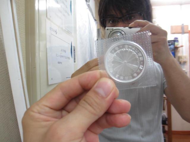 銀 高価買取 小平市 国分寺市 プラチナ ダイヤ 銀貨 記念硬貨