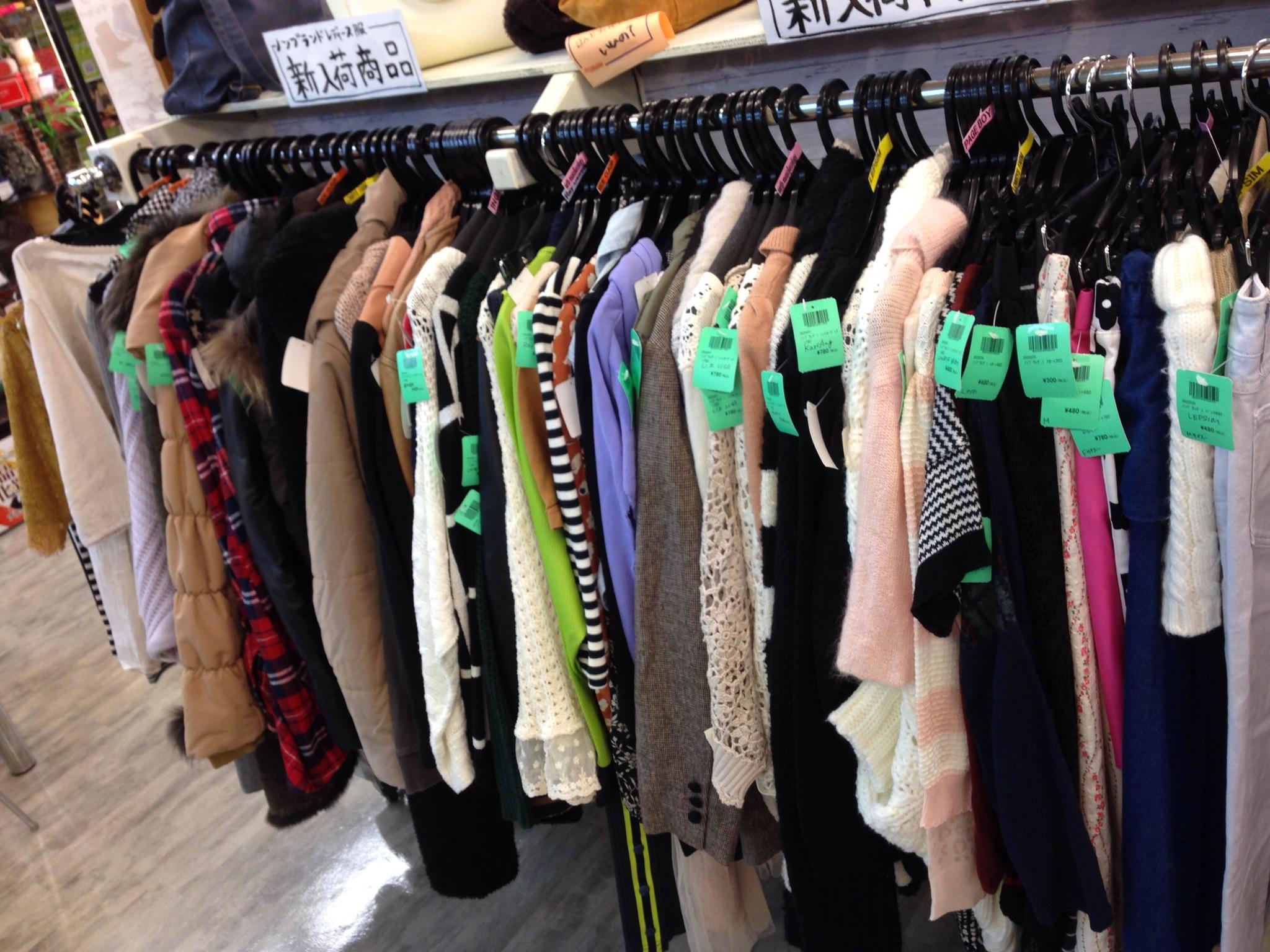 ワンランクダウン レディース衣料 買取 古着 入間アウトレット付近 16号沿い ラグステーション瑞穂店