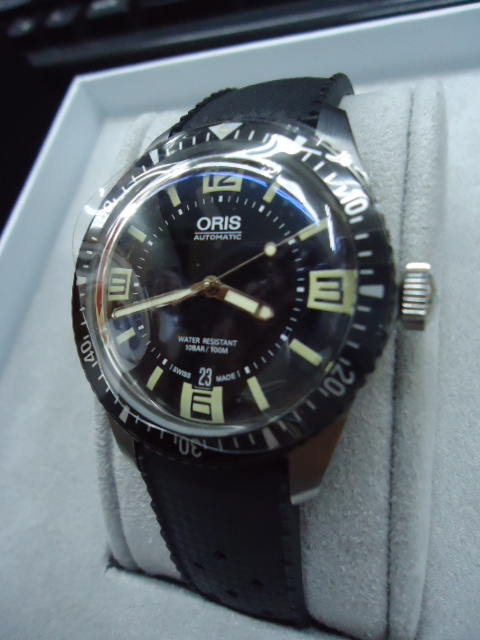 瑞穂店 ORIS オリス ダイバーズ ウォッチ 腕時計 買い取り 羽村 福生