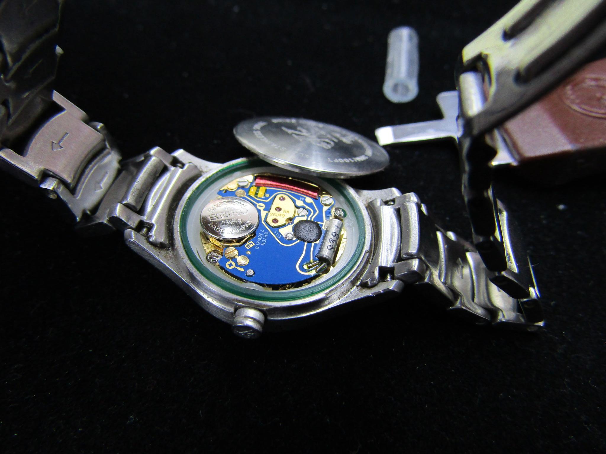 東大和 電池交換500円~ 時計オーバーホール ベルト調整 時計の洗浄 時計の事ならゴールドステーション東大和