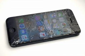 ガラス割れSoftBank-iPhone5-64GB買取ました!ブラック-MD662JA