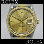 ロレックス ROLEX アンティークも現行品も 16233 datejustお買取させていただきました。本体のみ!風防カケあり ブレスヨレあり高価買取させていただきました!小平 花小金井 久米川 東大和 東村山 国立 国分寺 立川 多摩地区で時計買取 高く売るなら当店へ!